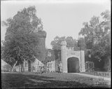 Gloucester Lodge, lodge to Orchardleigh House, at Lullington. c.1905