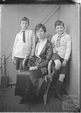 The photographer's wife and twin boys c.1919