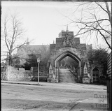 Entrance to the Royal High School, Lansdown c.1890s