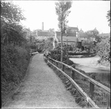 The bridge and ford at Wellow c.1890s