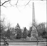 Obelisk and Dairy Farm, Royal Victoria Park c.1890s