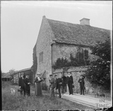 Group of people at South Wraxall Manor c.1890s