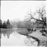 The lake at Royal Victoria Park c.1890s
