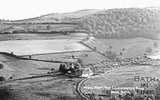 View of Woolley from the Gloucester Road near Bath (1) c.1920s