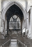 Inside St Mary's church, Bathwick 1892