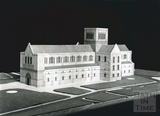 Model to illustrate possible appearance of the Norman Cathedral of John de Villula (Bath Abbey) 1951