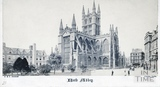 Bath Abbey from Orange Grove, Bath c.1866