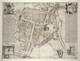 c.1600 The Savile Map of Bath