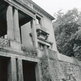 NE front of Wood House, Twerton, May 1965