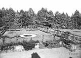 The Granby Hotel gardens, Elms Cross, Wingfield c.1939