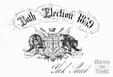 Letterhead for the Bath Election 1859