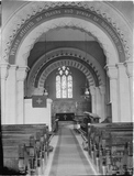 Inside Priston Church 1932