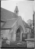 Porchway, Biddestone Church 1933