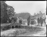 The classic view of Castle Combe c.1917-18