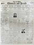 Front page of the Bath and Wilts Chronicle and Herald Monday July 28 1930