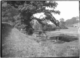 The Bybrook at Ford, Wiltshire 1932
