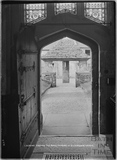 Looking through the North Door of Kilmersdon Church, Somerset 4 April 1938