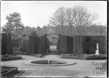 In the gardens, Ammerdown House, Kilmersdon, Somerset c.1938