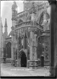 North Porch, St Mary Redcliffe. Bristol c.1950