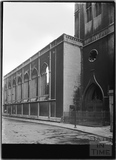 St Nicholas' Church, St Nicholas' Street. The exterior from the north west. Bristol c.1950