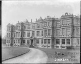 Longleat House, viewed across the lake c.1900