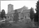 St Andrews Church, Coln Rogers, Gloucestershire c.1935