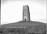 St Michaels Tower, Glastonbury Tor c.1934