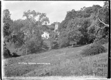 Pilton Manor and church, Somerset, c.1934