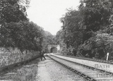 View to the west to the shorter Twerton Tunnel c.1903