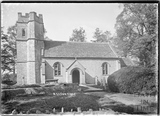 Church at Easton Grey, Wiltshire, c.1935