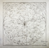 A Improved Map of the Villages, Roads, Farm Houses etc Five Miles round the City of Bath 1787