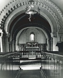 Interior of Elkstone church c.1960s