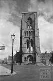 The truncated tower of St Andrews church, Julian Road, Bath c.1958