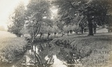 The brook at Shockerwick, posted 1915