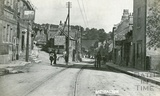 Batheaston High Street and Lamb & Flag, posted 1908