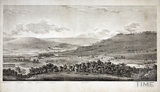 A Panoramic View of Bath from Beechen Cliff 1824