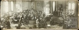 Panoramic view of the Pump Room interior, Bath c.1912