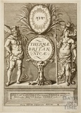 Frontispiece to Thermae Britanicae by Thomas Guidot 1691