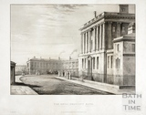 The Royal Crescent, Bath 1820