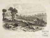 Local Situation of Bathwick Hill, Bath 1845