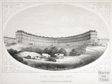 Royal Crescent, Bath c.1857