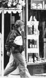 Princess Diana emerging from Jolly's in Milsom Street 23 July 1985