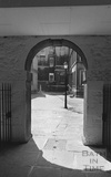 View into St john's Court from Bath Street 1974