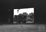 An abandoned goods carriage viewed in the railway shunting yard at Green Park Station c.1972