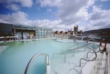 A view of the rooftop pool, Thermae Bath Spa, 5 June 2003