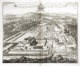 Tortworth, the Seat of Matthew Ducy Morton by Johannes Kip 1712