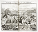 Henbury, the Seat of Mr John Sampson by Johannes Kip 1712