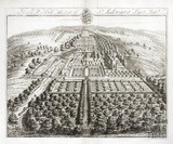 Hull Als Hill, the Seat of Sir Edward Furst Bartt by Johannes Kip 1712