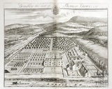 Bradley, the Seat of Thomas Dawes Esq. by Johannes Kip 1712