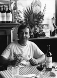 Jean-Pierre Auge of the Beaujolais Restaurant, July 1987